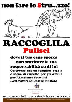 Deiezione selvaggia il comune di brolo detta le regole scomunicando - Cani che non vogliono fare il bagno ...
