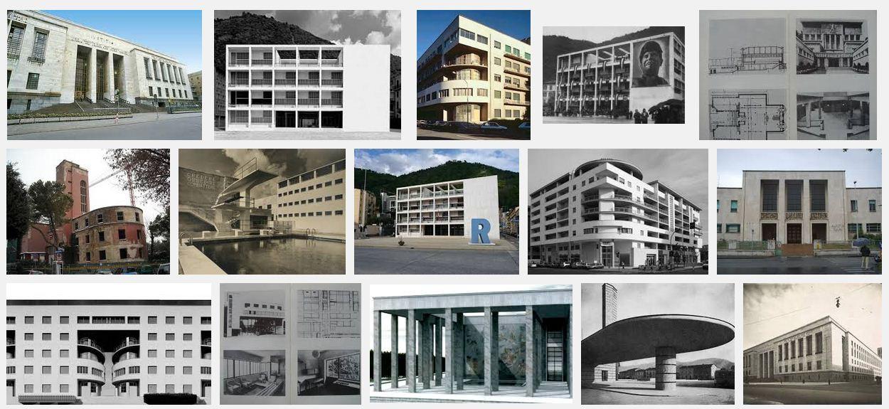 Polemiche design l architettura fascista storia for Case di architettura spagnola