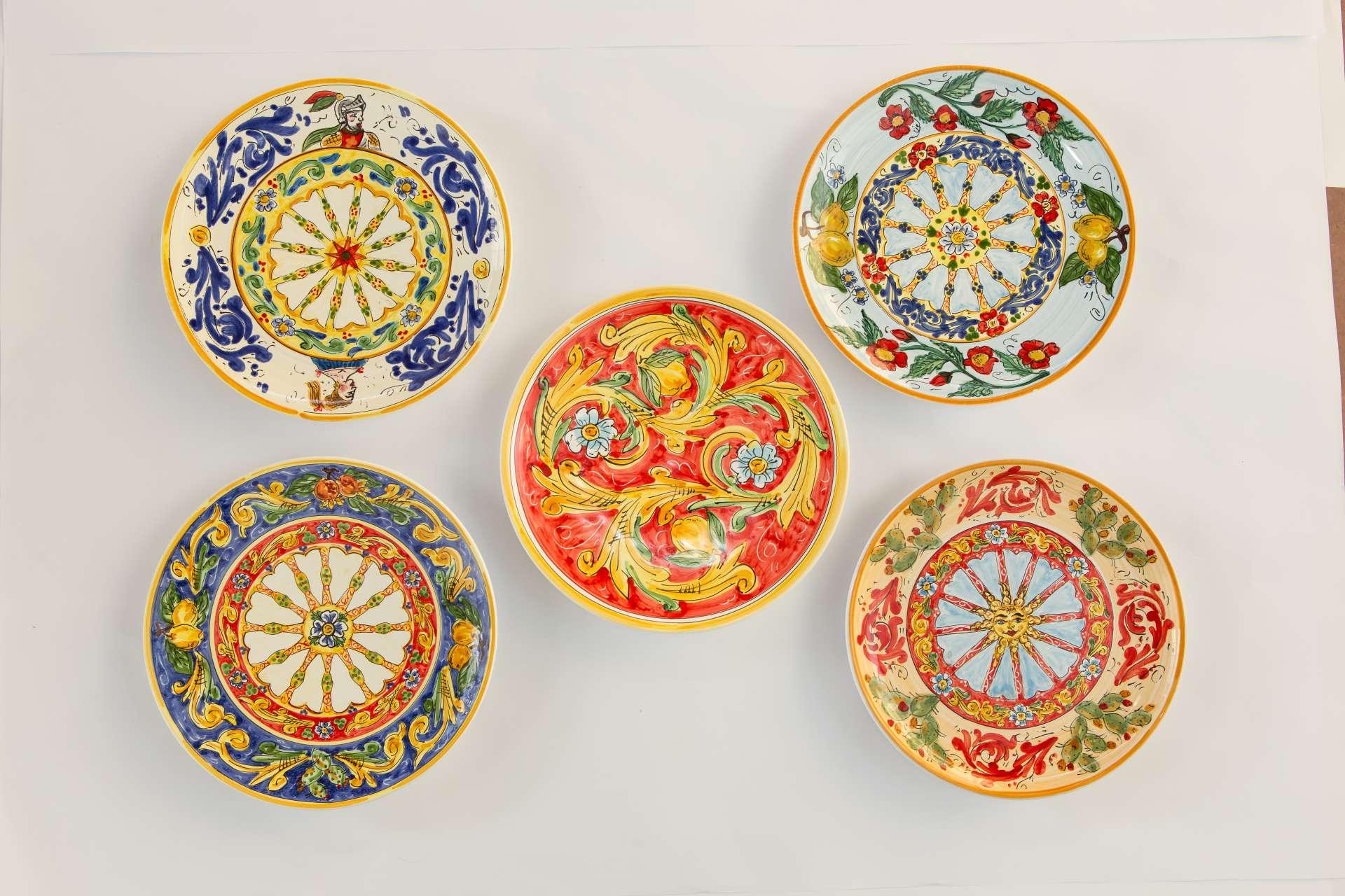 Ceramiche gallery - Piastrelle siciliane decorate ...