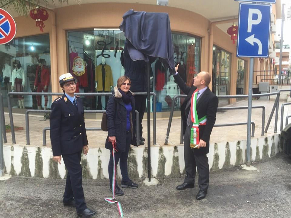 Patti - Inaugurata e aperta al transito la Via Giorgio ...