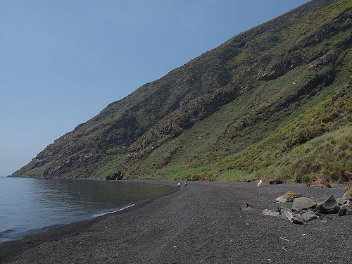 Image results for stromboli beaches