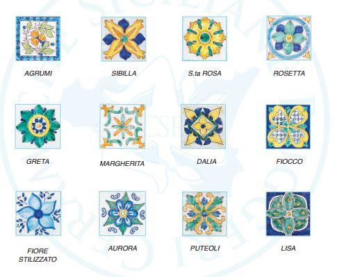 Piastrelle Di Ceramica Decorate.Design Siciliano Piastrelle Maioliche Made In Patti