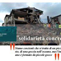 solidarietà san salvatore fitalia terremoto