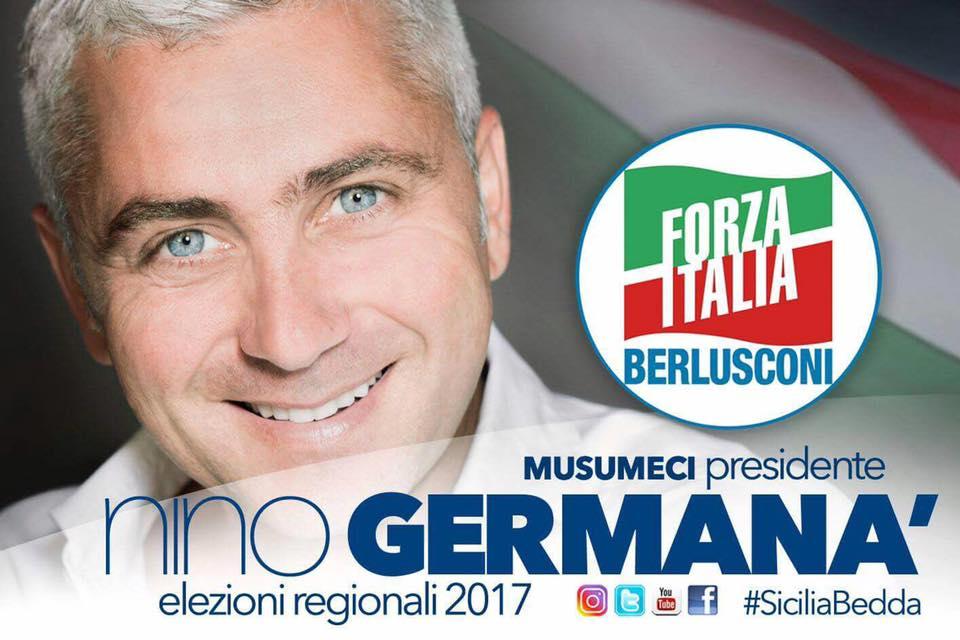 Regionali ora c 39 la certezza nino german correr con forza italia scomunicando for Deputati forza italia