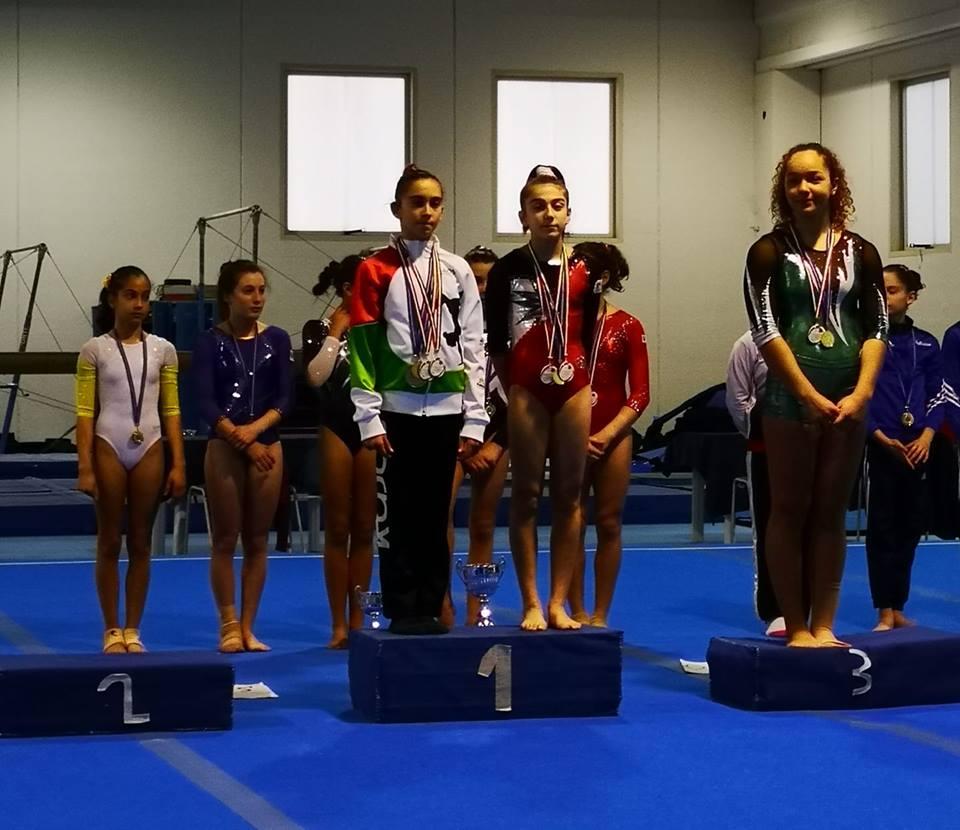 MARTINA MANIACI – La giovane brolese è campionessa regionale nella specialità Trave