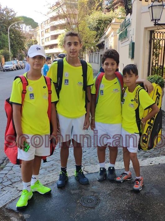 BROLO – Giovani Tennisti Crescono. Loro si sono qualificati per il master circuito FIT KINDER +Sport
