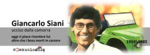 QUASI UN REDAZIONALE – Oggi ricordiamo Giancarlo Siani