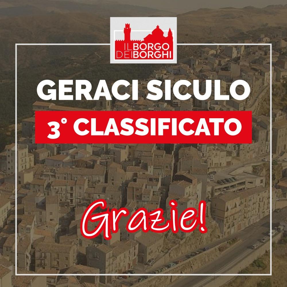 MADONIE – Geraci Siculo sul podio ma non vince all'edizione 2021 di Borgo dei borghi