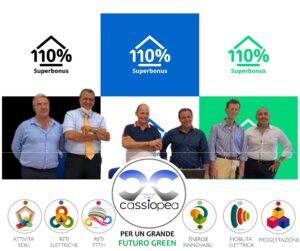 """SUPERBONUS110% – A maggio """"fioriscono"""" i Cantieri del Consorzio Cassiopea. Se ne apriranno 10"""