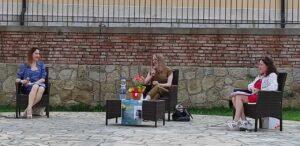 LIBRI – Il Salotto letterario in Villa, a Brolo ha ospitato Simona Lo Iacono