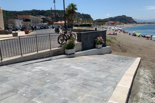 MILAZZO - Messa in sicurezza banchina del Tono, lavori completati